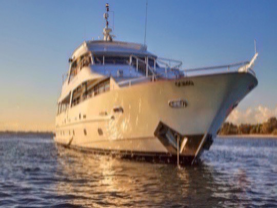 This luxury yacht showcases three spacious decks for entertaining, dining and relaxing. With a full wrap around deck on two of the levels and a roof top viewing platform. OUR VESSEL provides guests with 360° views perfect for capturing all the NYE action on Sydney Harbour. Some of the features that makes our vessel stand out from the rest includes her dining room and bar area, stunning roof top and a six-person jacuzzi that guests can use to take in the ocean air and savour the fleeting moments of 2020.
